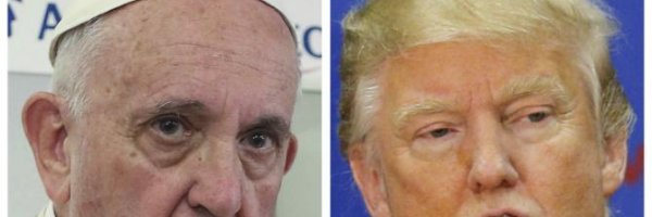 article about Pope Francis Takes Trump Down