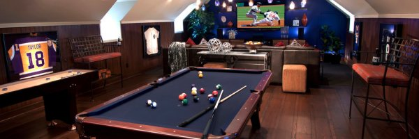 article about Building your own man cave (without getting in trouble)