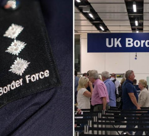 World article about britain needs more border guards