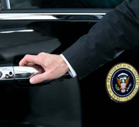 Politics article about Secret service to run out of money