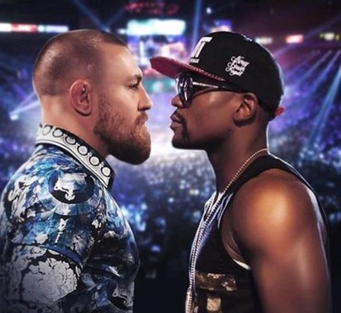 Sport article about Mayweather Vs McGregor - A Knockout?