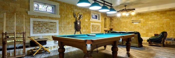 article about The Ultimate Man Cave!
