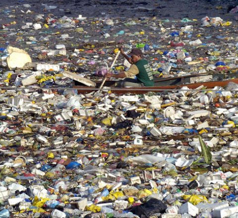 Science article about great pacific garbage patch