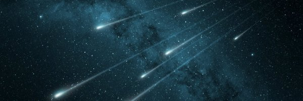 article about first artificial meteor shower