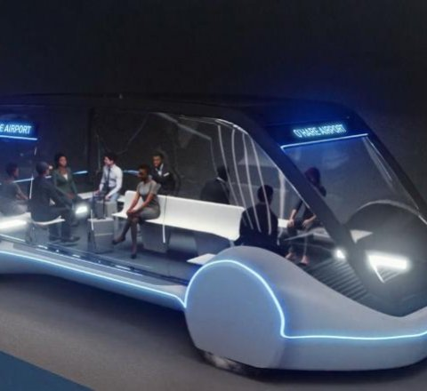 Technology article about elon musks boring company chicago transport