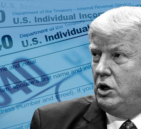 Politics article about why has trump not shared his tax returns