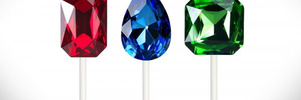 article about Chupa Chups releases 50-carat precious stone lollipops