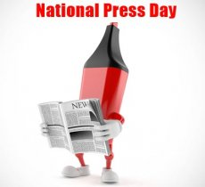 Journalism article about Celebrating National Press Day in India